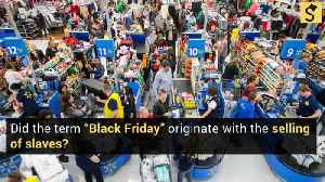 How Did Black Friday Get Its Name? [Video]