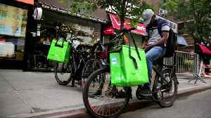 Uber could buy Deliveroo food courier service [Video]