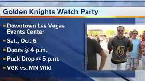 Vegas Golden Knights watch Party [Video]