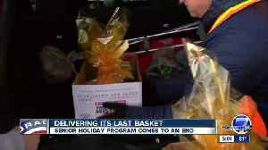 Basket of Joy program that delivers food and holiday cheer to seniors comes to an end [Video]