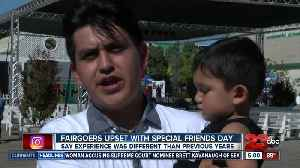 Fairgoers upset with Special Friends Day at fair [Video]