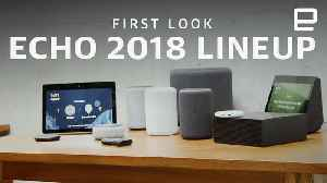 First Look at all the new Amazon Echos of 2018 [Video]