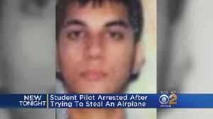 Student Pilot Tries To Steal Airplane [Video]