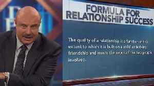 Dr. Phil On Resolving Marital Disagreements: 'The Goal Should Be That You Want Your Partner To Understand How You Feel' [Video]