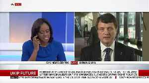 UKIP Leader Gerard Batten Says He Would Support Bringing Tommy Robinson Into The Party [Video]