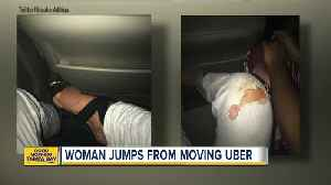 Florida college student says she was briefly held captive by her Uber driver [Video]