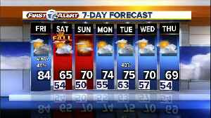 Metro Detroit Forecast: Windy, quick hitting showers & storms [Video]