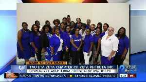 Good morning from Zeta Phi Beta Incorporated! [Video]