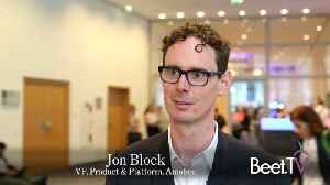 News video: Videology's Future Under Amobee: VP Jon Block explains