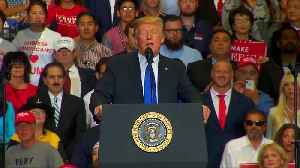 Trump backs Kavanaugh at Las Vegas rally [Video]