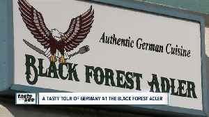 Black Forest Adler serving homemade German food [Video]