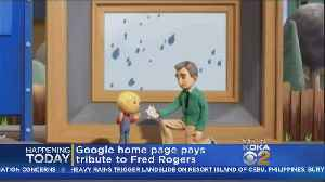 Google Doodles Honors Mister Rogers [Video]