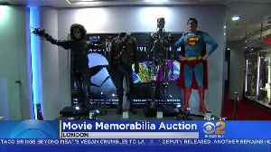Iconic Hollywood Props Go Up For Auction In London [Video]