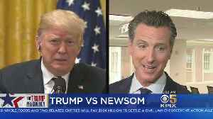 Trump, Newsom Swap Insults Over Immigration [Video]