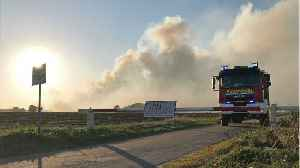 Weeks-Long Fire In Germany Sparked By Rocket Tests [Video]