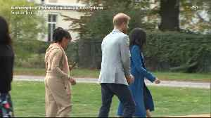 Right Now: Prince Harry Steals Samosas [Video]