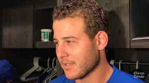 Anthony Rizzo on the Cubs: 'Everybody has to deal with bumps and bruises' [Video]