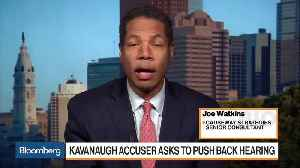 News video: Democratic, GOP Strategists React to Trump Casting Doubt on Kavanaugh Accuser