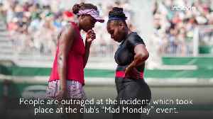 Australian Footballers Ignite Outrage After Dressing As Serena and Venus Williams In Full-Body Blackface [Video]