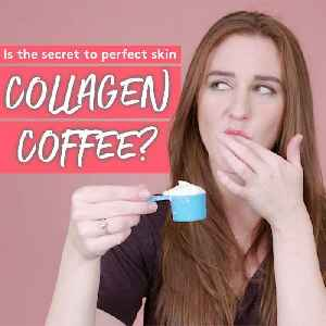 Is the secret to perfect skin collagen coffee? [Video]