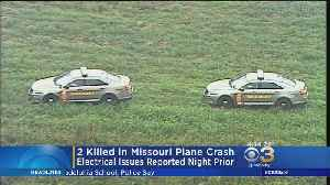 2 Killed In Missouri Plane Crash That Reported Issues Thursday Night [Video]