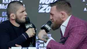 News video: Conor McGregor Says He Wanted TO Kill Khabib Nurmagomedov During April Bus Attack