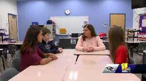 Bennett Middle School Honor Society students to sit in Ravens Honor Row [Video]