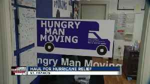 Two local woman haul for hurricane relief [Video]