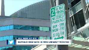 Why was this Buffalo man ticketed in a metered area? [Video]