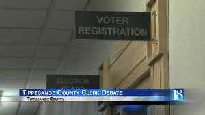 Tippecanoe County Clerk's Debate [Video]