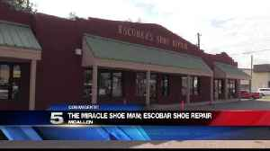 McAllen Shoe Repair Shop Owner Coined Miracle Man [Video]