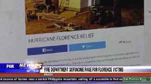 Biloxi Fire Department GoFundMe page for Florence victims [Video]