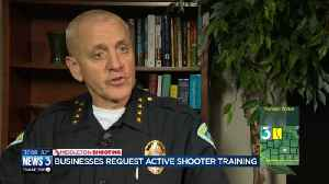 Deputies, officers offer active shooting training [Video]