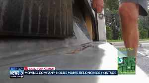 Wisconsin man's belongings held hostage by moving company [Video]