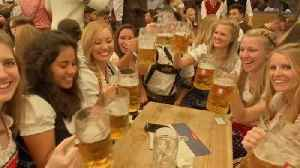 O'zapft is! Oktoberfest kicks off in Munich [Video]