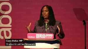 Dawn Butler ends speech with 'Greatest Showman' quote [Video]