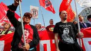 New Moscow protests against Russian pension reform bill [Video]
