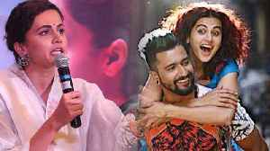 Taapsee Pannu Befitting reply to troller on Manmarziyaan scene; Check Out | FilmiBeat [Video]