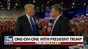 Hannity interviews Trump at Rally [Video]