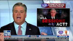 Sean Hannity urges Donald Trump to NOT fire Rod Rosenstein [Video]
