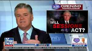 Hannity To Trump: Do Not Fire Rosenstein, I Have Multiple Sources Confirming This Is All A Set Up [Video]