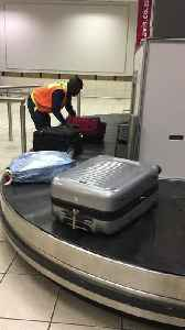 Airport Employee Shows Outstanding Work Ethic [Video]