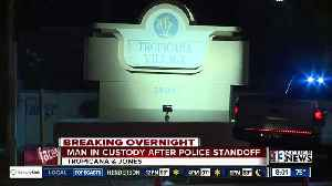 Man in custody after overnight standoff with police [Video]