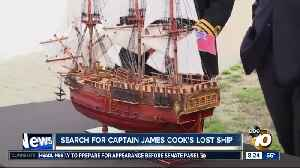 Search for Captain James Cook's lost ship [Video]