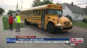 Boys Town, OPS transports Yale Park students [Video]