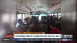 Photos show over-crowded school bus with children sitting on the floor [Video]