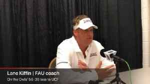 Lane Kiffin on FAU's loss to UCF [Video]