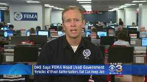 Officials: FEMA Director Will Keep Job After Misuse Of Government Vehicles [Video]