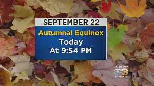 Saturday Morning Weather Update: Fall Arrives at 9:54PM Tonight [Video]