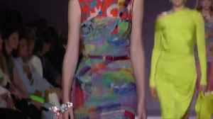 Versace plays with prints and leather for its spring/summer designs [Video]